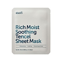 Klairs-Rich-Moist-Soothing-Tencel-Sheet-Mask-1