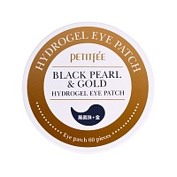 Petitfee-Black-Pearl-&-Gold-Hydrogel-Eye-Patch-1