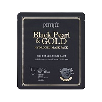 Petitfee-Black-Pearl-&-Gold-Hydrogel-Mask-Pack-0