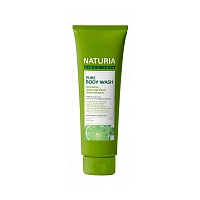 NATURIA-Pure-Body-Wash-Wild-Mint-&-Lime-100ml-1