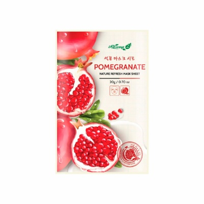Always21-Pomegranate-Refresh-Mask-Sheet