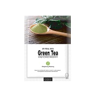 COS.W-My-Real-Skin-Green-Tea-Facial-Mask