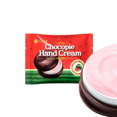 The-Saem-Chocopie-Hand-Cream-Watermelon-2
