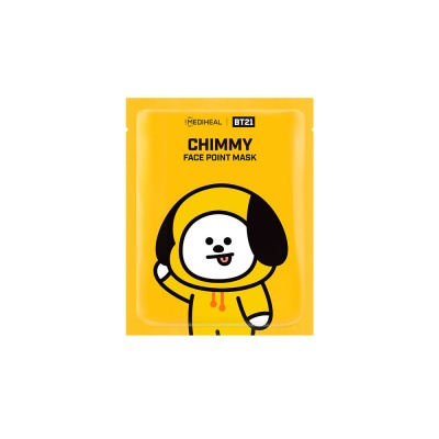 MediHeal-BT21-Chimmy-Face-Point-Mask-1
