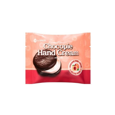 The-Saem-Chocopie-Hand-Cream-Peach-1